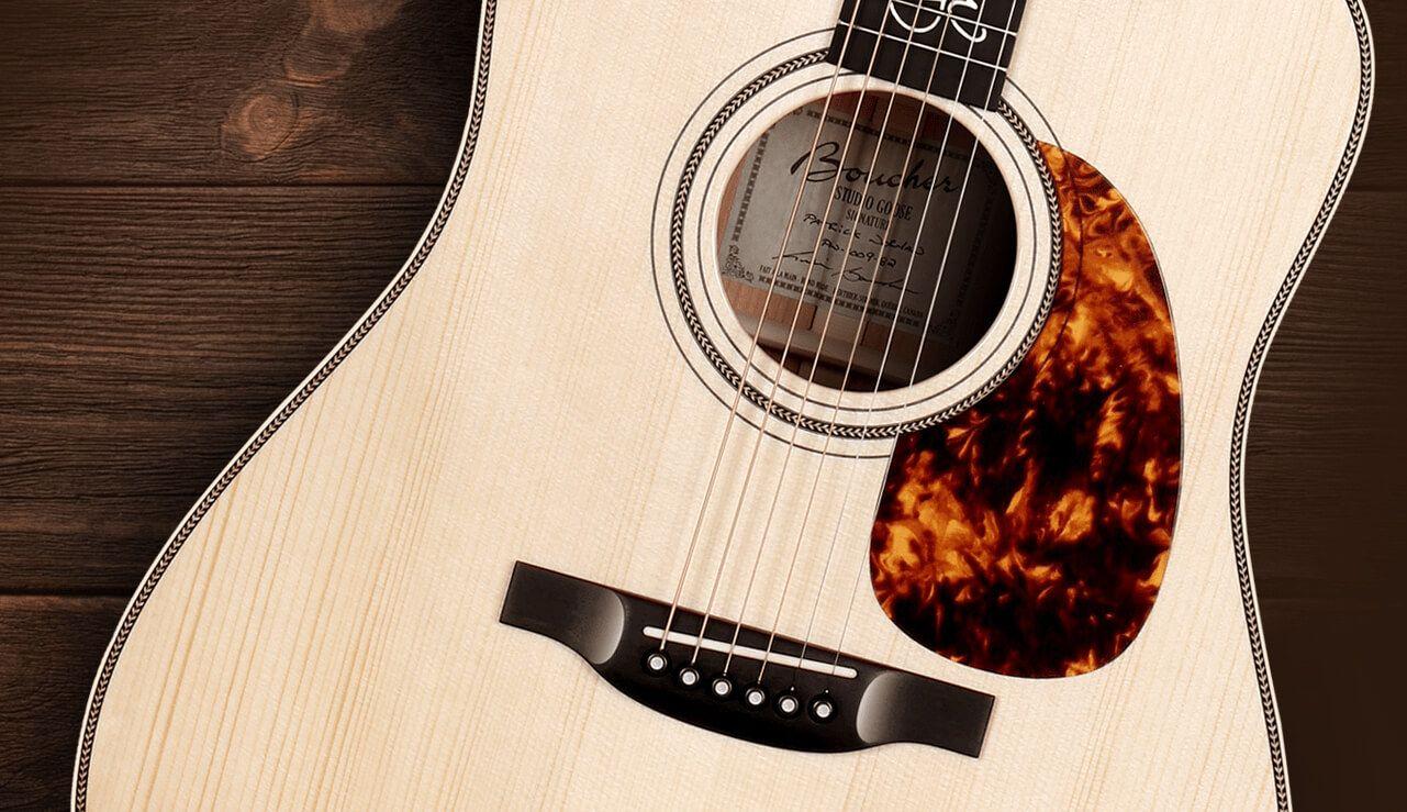 Guitares Boucher Modèles Signature